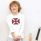 Buy Union Jack Jersey T-Shirt from The White Company