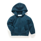 Buy Baby Contrast Knit Hoodie from The White Company