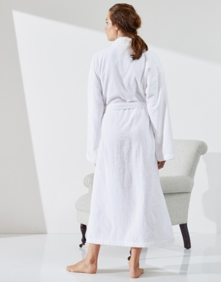 Cotton Classic Stand Collar Robe