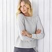 Silver Stripe Sweatshirt