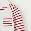 Stripe Envelope Neck Bodysuit