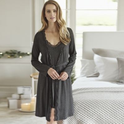 Swing Lace Trim Robe