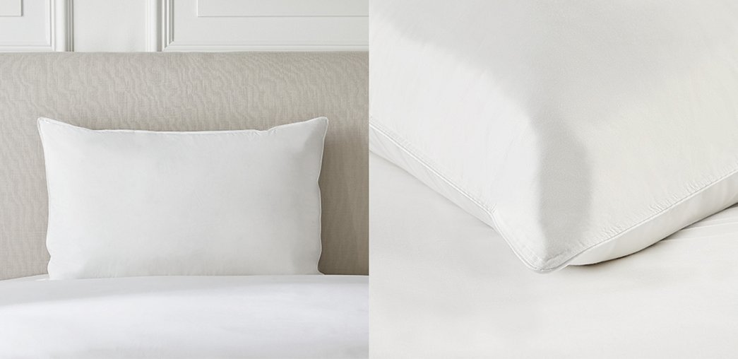 Pillows Down Amp Feather Bed Pillows The White Company
