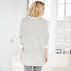 Side Zip Batwing Sweater
