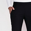 Slim Side Zip Wool Pants