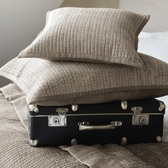 Buy Vienne Cushion Covers - Natural from The White Company