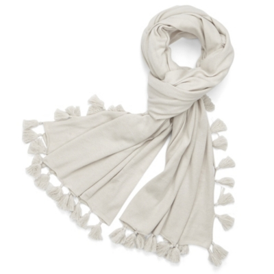 Tassel Scarf - Natural