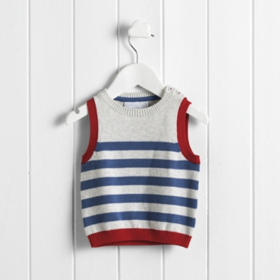 Stripe Knitted Tank Top