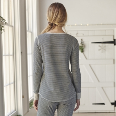 3 Button Henley Top