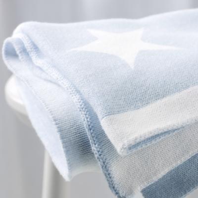 Reversible Star Baby Blanket
