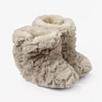 Textured Slipper Booties - Putty