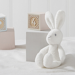 Textured Bunny Rattle