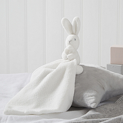 Textured Bunny Soft Toy Comforter