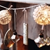 Antique Chandelier Drop - Rectangle