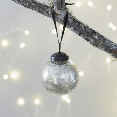 Mini Etched Bauble