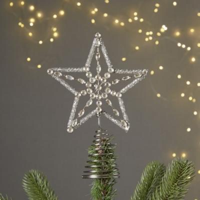 Vintage Jewel Star Tree Topper
