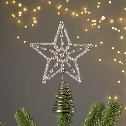 Vintage Star Tree Topper 66