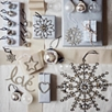 Large Antique Jewelled Snowflake Decoration