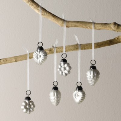 Mini Baubles - Set of 6
