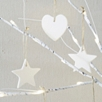 Porcelain Hearts And Stars Set of 6