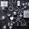 Antiqued Stars And Hearts Set Of 6