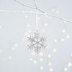 Beaded Snowflake - Medium