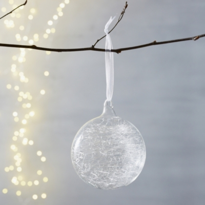 Spun Glass Bauble