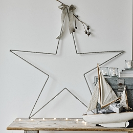 Beaded Star Ultimate Christmas Decoration