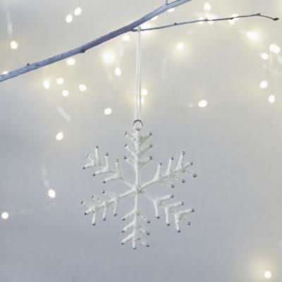 Winter Wool Snowflake