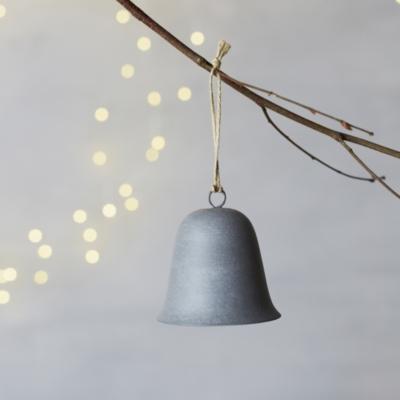 Antiqued zinc bell tree decoration home accessories sale for Decoration zinc