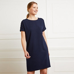 Textured T-Shirt Dress