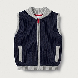 Textured Knitted Gilet (1-6yrs)
