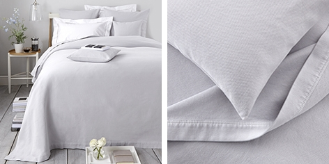Textured Pique Bedspread & Cushion Covers