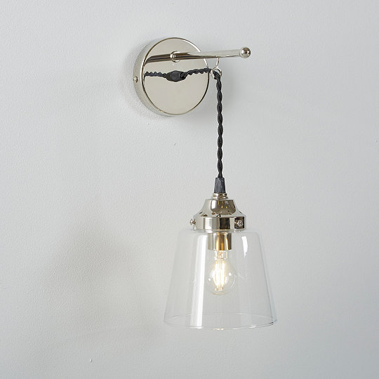 Tapered Gl Wall Light