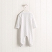 Tiny Heart Velour Sleepsuit