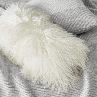 Tibetan Sheepskin Cushion Cover