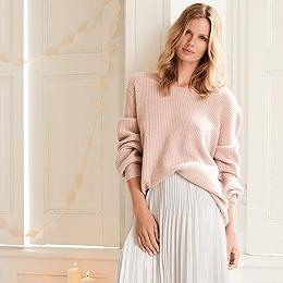 Tie Back Bell Sleeve Sweater