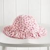 Tillie Floral Ruffle Hat
