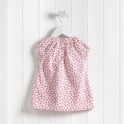 Tillie Floral Smocked Dress - Pink