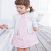 Tillie Floral Smocked Dress - Pink