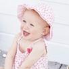 Tillie Floral Smocked Romper - Pink