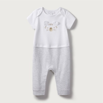 Tiger Short Sleeve Sleepsuit