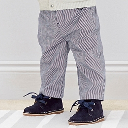 Ticking Striped Pants
