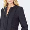 Tweed Jacket  - Black