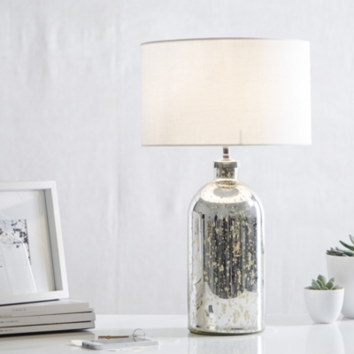 Mercury Small  Bottle Table Lamp