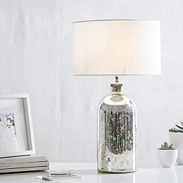 Mercury Small  Bottle Table Lamp