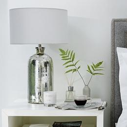 Mercury Large  Bottle Table Lamp