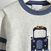 Taxi Motif Sweater