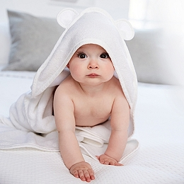 Small Hydrocotton Hooded Bear Ears Towel