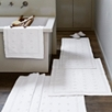 Toulon Bath Mat Runner - White